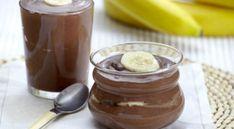 Ατομικά προφιτερόλ με μπανάνα με 4 υλικά σε 10 λ