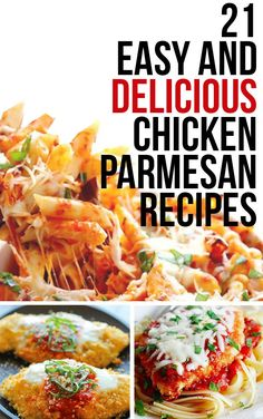 21 Delicious Ways To Eat Chicken Parmesan