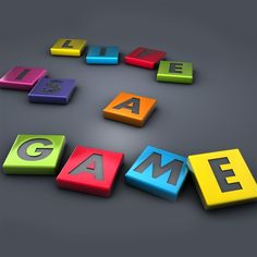 Life is a Game iPad 4 Wallpaper