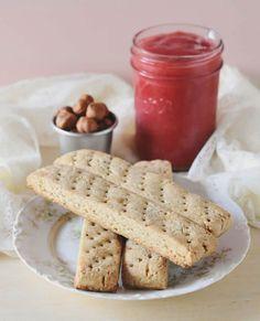 Hazelnut Shortbread Fingers from Whole Grain Vegan Baking Photos by by Celine Steen