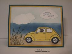TSOT #255, Seaside Ride by BK cards - Cards and Paper Crafts at Splitcoaststampers