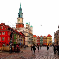 Hello from Poznan! Even though the weather was really bad today we had an amazing time in here