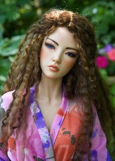 copyright by antiquelilac   Iplehouse makes the most amazing doll sculpts ! OH MY!! she is Gorgeous!