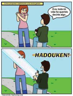 HADOUKEN..!!