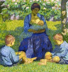 View Maternité by Giovanni Giacometti on artnet. Browse upcoming and past auction lots by Giovanni Giacometti. Giovanni Giacometti, Alberto Giacometti, Breastfeeding Art, Renoir, William Adolphe Bouguereau, Elements Of Art, Mother And Child, Illustrations, Traditional Art