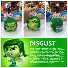 Tsum Tsum Disgust Patterns by uDezignCrafts on Etsy