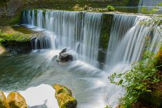 Rivière l'Areuse Picts, Waterfall, Outdoor, Switzerland, Outdoors, Outdoor Living, Garden, Waterfalls