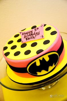 Busy Miss B.: Batman™/Batgirl Party: Part 2