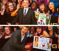 This Capitol girl played Cato and Peeta. This is a FABULOUS idea!