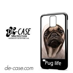 New Design Funny Hilarious Pug Life Parody Fans DEAL 7647 Samsung Phonecase Cover For Samsung Galaxy S5 / S5 Mini