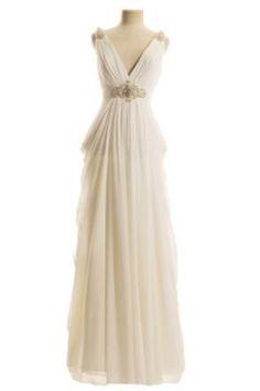 Grecian dress. Grecian wedding dress. Grecian cocktail dress.