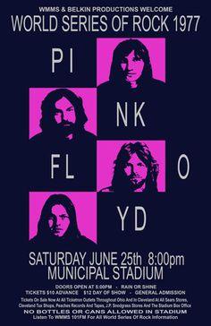 New music poster retro pink floyd Ideas Pink Floyd Poster, Pink Floyd Art, Rock Posters, Band Posters, Music Posters, Event Posters, Cleveland Concerts, Musica Punk, Concert Rock