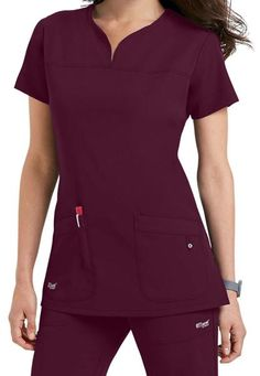 Signature 2 Pocket Notch Yoke Neck - Wine