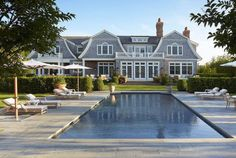 We have only two words for this Hamptons estate: Dream. Home. Hamptons Chic by Edmund D. Hollander Landscape Architect