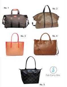 5 Fab Carry On Bags