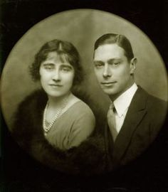 The Queen Mother  and George VI