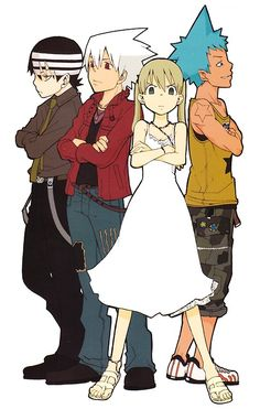 Soul Eater- Maka and the boys