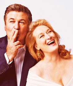 Alec Baldwin is just...pure perfection and insanely hottt! oh I <3 he and Meryl Streep!