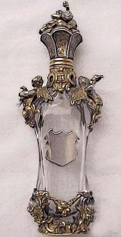 Antique Art Nouveau Perfume Bottle.......