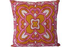 Pink Vera Scarf Pillow