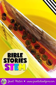 Bible Stories STEM Challenge (Noah's Ark Lesson and Activities) by Jewel's School Gems | Have you ever wondered if STEM and Bible stories can be combined? Well, the answer is YES. Try my Noah's Ark STEM Challenge and see how fun and engaging the study of Bible stories can be when combined with STEM! Perfect for Bible Camp, Sunday School, Homeschool and MORE. Click to learn more about it!