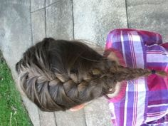 3 Ways to Braid Your Own Hair - wikiHow
