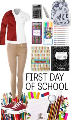"""uniform swag"" by mae3355 ❤ liked on Polyvore"