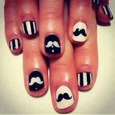 Ha, Mary & Bec nails combined