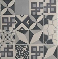 1000 images about carreaux de ciment on pinterest cuisine cement tiles an - Imitation carrelage mural adhesif ...