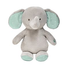 Carter's Vibrating Soother Elephant, Grey/Mint Carter's