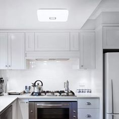 24W Square Flush Mount LED Ceiling Lights IP65 Waterproof Daylight White – onforuleds Square Led Ceiling Lights, Led Ceiling Light Fixtures, Indoor Swimming Pools, Roof Light, Incandescent Bulbs, Aluminium Alloy, Light Colors, Beams, Home Decor