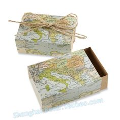 "216 pcs BeterWedding cadeaux gros "" autour de la carte du monde "" Wedding Favor Box BETER-TH031-A0   http://sea.taobao.com/item/en/39254299830.htm"