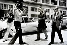 Meyer Lansky walking to court with his attorney. He had become a celebrity criminal - and ...
