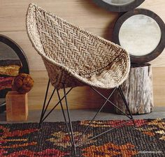 Roost Silver Jute Moghul Chair – Modish Store
