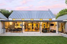 Back photo of the Olsen Studios - Modern Farmhouse