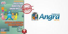 Nova -  Apostila Auxiliar Administrativo de Angra dos Reis  #concursos