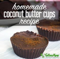 Try these delicious homemade coconut butter cups that provide healthy fats and are a great alternative to peanut butter cups!