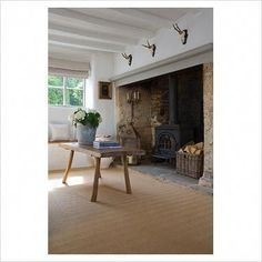 Fantastic Photos Fireplace Hearth materials Thoughts A fireplace hearth is the important portion of a hearth exactly where the fireplace actually burns Inglenook Fireplace, Fireplace Hearth, Fireplace Design, Fireplaces, Cotswold Cottage Interior, Country Cottage Interiors, English Cottage Style, Welsh Cottage, Cottage Living Rooms