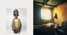 Onde as crianças dormem ao redor do mundo. Lehlohonolo, 6 anos mora em Lesotho.