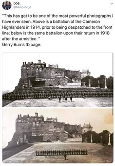Sobering photo shows how devastating was for one Scots regiment Military Memes, Military Love, Military History, History Memes, History Facts, World History, Wag The Dog, Ww1 Soldiers, Cultura General