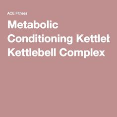 Metabolic Conditioni