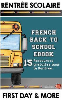 Ressources gratuites pour la rentrée{French Tips & Freebie