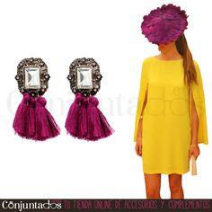 Con los #pendientes Nora irás ideal a todos tus eventos. 5 modelos para elegir ★ 12,95 € en https://www.conjuntados.com/es/pendientes-nora-con-borlas-en-burdeos.html ★ #novedades #earrings #conjuntados #conjuntada #joyitas #lowcost #jewelry #bisutería #bijoux #accesorios #complementos #moda #fashion #fashionadicct #picoftheday #outfit #estilo #style #GustosParaTodas #ParaTodosLosGustos