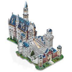 Wrebbit Puzz 3D Neuschwanstein Castle 3-D Puzzle 836 pcs illuminated