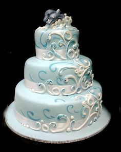 #weddingcake #delfini #mare per sposi speciali http://www.simocakedesigner.it