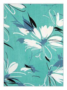 Own a piece of wallpaper/textile design history. Unique artwork by the Parisian Lizzie Derriey Design Studio Textiles, Textile Prints, Textile Design, Design Art, Lino Prints, Block Prints, Paper Artwork, Home Interior, Interior Design