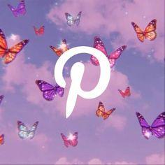 Purple Wallpaper Iphone, Cute Wallpaper Backgrounds, Cute Wallpapers, Iphone Logo, Iphone Icon, Icon Pinterest, Images Hippie, Love Animation Wallpaper, Plakat Design