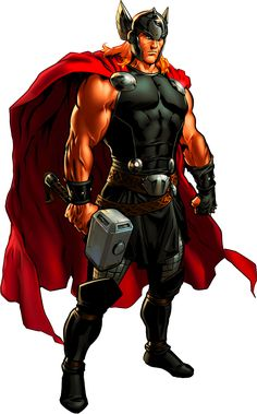 Thor by AlexelZ on DeviantArt Marvel Dc Comics, Marvel Avengers Alliance, Marvel Art, Marvel Heroes, Marvel Characters, Flash Comics, Jane Foster, Asgard, The Mighty Thor