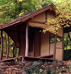 The Tea Hut, part of the  Japanese Garden for Reflection and Contemplation.  Photo courtesy of  Smith College Relations.  Need this