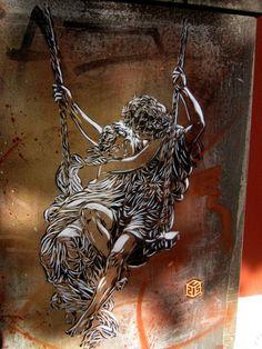 Street Art by C215 | Cuded